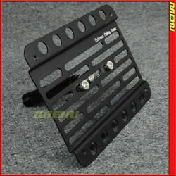 Multi Angle Tow Hook License Plate Holder 2010-up Audi A5 8t