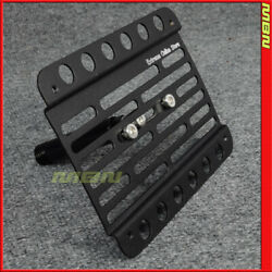 Multi Angle Tow Hook License Plate Holder 03-09 Mercedes Clk55 Clk63 W209 No Pdc