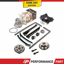 Timing Chain Kit Cam Phaser Water Oil Pump For 04-10 Ford 5.4 Triton 3-valve