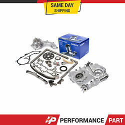 Timing Chain Kit Cover Oil Pump Water Pump For 94-04 Toyota Tacoma 3rzfe
