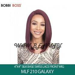 Bobbi Boss 4 X 4 Silk Base Swiss Lace Front Wig - Mlf210 Galaxy