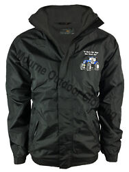 New Holland Tractor Regatta Fleece Lined Waterproof Jacket With Embroidered Logo