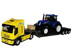 Iveco Truck With New Holland T7 Tractor Lights And Sounds 3127100