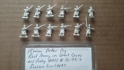 15mm Peter Pig Red Army In Great Coats And Fuzzy Hats  Russian Civil War