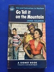 Go Tell It On The Mountain - 1st Paper Inscribed By James Baldwin To Publisher