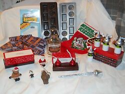 Collectible Hershey's Kisses -molds-boxes-pencil-game-jar-christmas Lot