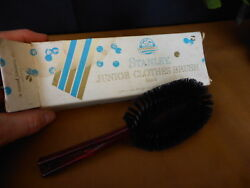 Vintage Stanley Junior Clothes Brush Home Products Box Included