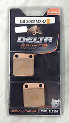 Sintered Brake Pads Db2020 Fits Front Left/right Daelim 125 History 2005 2006