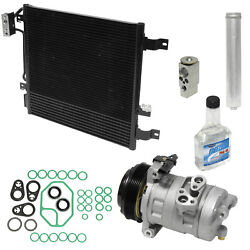 new ac compressorcondenser install kit 2007-2011 JEEP WRANGLER 3.8 AUTO TRANS