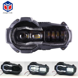 LED Headlight with Angel Eye DRL For BMW R1200gs 2004-2012 oil cooled model