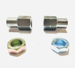 7/8-18 Jam Nut And Weld Bungs Rh Lh For Rod Ends-off Road-4 Link Suspension