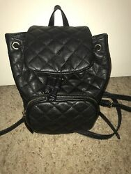 Small black Forever 21 backpack purse