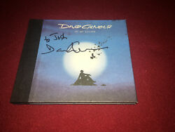 DAVID GILMOUR SIGNED CD ON AN ISLAND PINK FLOYD PROOF