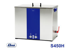 Elmasonic S450 H Ultrasonic Cleaner With Heating 45 Ltr. Content Incl. Lid