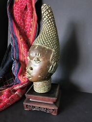 Old Kingdom Of Benin African Bronze Andhellipbeautiful And Unique Collection Piece