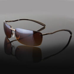 Men Classic Sunglasses Metal Driving Glasses Aviator Outdoor Sports Uv400 New $10.99