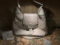 GUCCI WOMEN'S BAG - EMILY HOBO GUCCISSIMA SOFT LEATHER MONOGRAM SHOULDER - MD