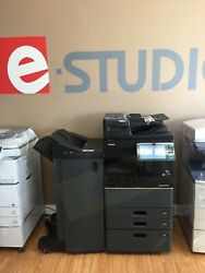 Toshiba e-Studio 3505ac Color & B/W Print-Scan-Fax (Low Meter/Finisher Included)