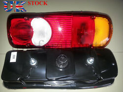 2x Rear Tail Lights Lamps E4 Marked For Daf Cf - Lf - Xf Truck Lorry Amp Socket