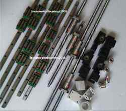 20mm Hiwin Linear Guide Rail Carriages , Ball Screws Double Ballnuts For Cnc