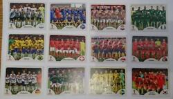 Panini Russia 2018 Choose Your Team 19 Stickers Includes Team Photo With Code .2