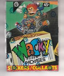 1992 P-pee-chee Opc Wacky Packages Stickers Box 36 Packs Tough Sealed