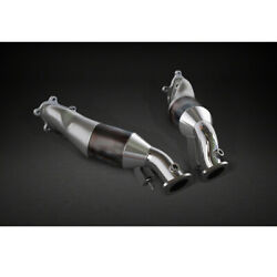 Capristo Mk3 Downpipes With Sports Cats 100 Cell For Nissan Gtr