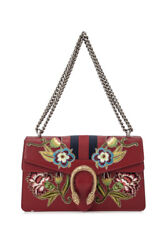Gucci Dionysus Small Shoulder Bag (Prints Red; Leather)