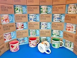STARBUCKS City Mugs BEEN THERE SERIES **NEW WITH TAG** collection *ASSORTED*