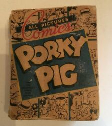 Big Little Book Porky Pig 1942 All Pictures Comic Book Petunia Pig