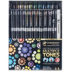 CHAMELEON Color Tones Markers Pens Refillable - Full Set for Painting Drawing