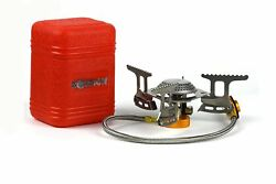 Outdoors Mini Camping Stove Ultralight Collapsible Backpacking w Piezo Ignition