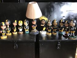 Pittsburgh Steelers Bobblehead Limited Edition Retro Old School 7 Inch
