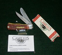 Camillus Remington Knife 17 Cal. Hornady 3-5/8 1990's Usa W/packaging,papers