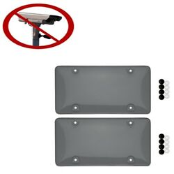 Tinted Traffic Camera License Plate Cover Bubble | Unbreakable | Original