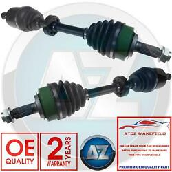 For Honda Accord 2.2i Ctdi X2 Front Left Right Drive Shaft Driveshafts New