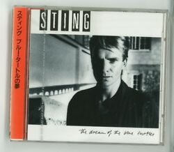 Sting The Dream Of Blue Turtles Cd Japan 1st Press D32y-3004 New Sealed S5847