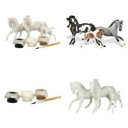 Horse Toys For Girls Boys 3 Stablemates Horse Family Painting Craft Activity Set