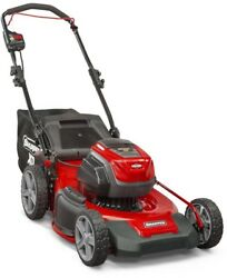 Electric Cordless Push Lawn Mower Walk Behind Snapper Bagger Battery Charger
