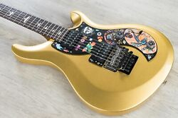 PRS Paul Reed Smith S2 VR Vernon Reid Vela Limited Electric Guitar Egyptian Gold