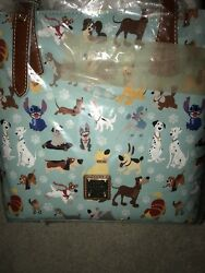 New Dooney & Bourke Disney Dogs Emily Tote Bag Purse NWT in Plastic Awesome!!!