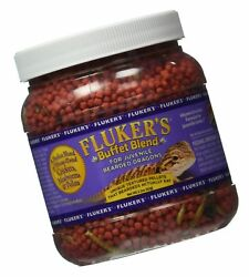 Fluker Labs SFK76050 Juvenile Bearded Dragon Buffet Blend Food 2.2-Ounce