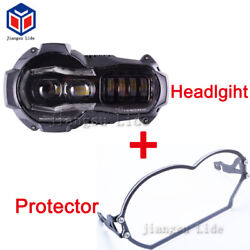 LED Headlight DRL+headlight protector For BMW R1200gs 2004-2012 oil cooled model