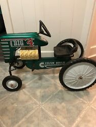 1970and039s Amf Big 4 538 Chain Drive Toy Pedal Tractor