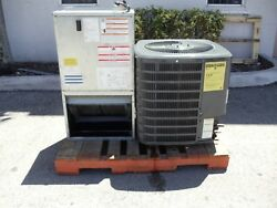 Central Air Goodman Straight Cool Central AC Unit Condenser and Air Handler