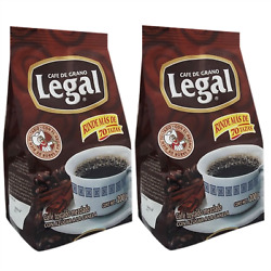Cafe Legal Canela Roasted Mexican Ground Coffee With Caramelized Sugar Pack of 2