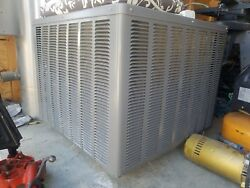 SLIGHTLY USED 4-TON CENTRAL AIR CONDITIONING UNIT 13 SEER USED APPROX 5 MONTHS