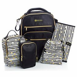 Diaper Bag Travel Backpack for Women:Large Water Repellent Bags for Mom and Baby