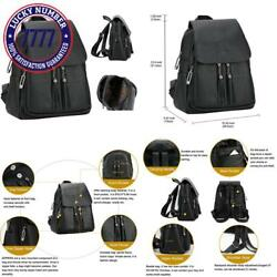 Black Backpack Purse Leather Pu Guess Backpack Purse For Women Teen Girls Scho