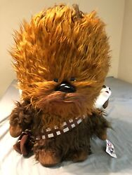 Star Wars The Last Jedi 24 Talking Chewbacca And 6 Porg Plush Toy With Tag